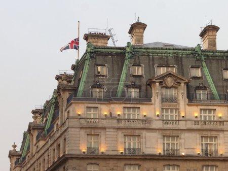 The Ritz hotel where Margaret Thatcher has died