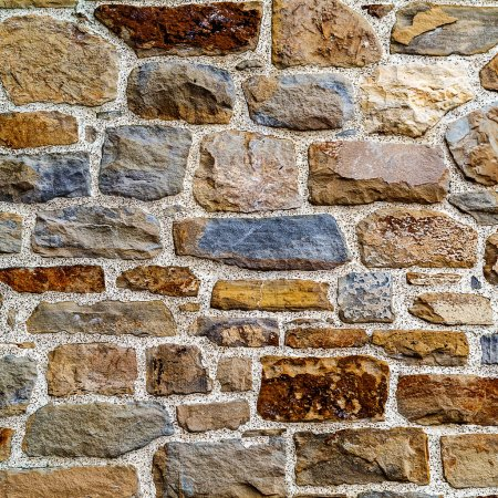 Vintage textured background wall of natural stone