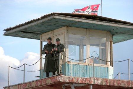 Odessa, Ukraine - May 6: Fragment Reconstruction combat events i