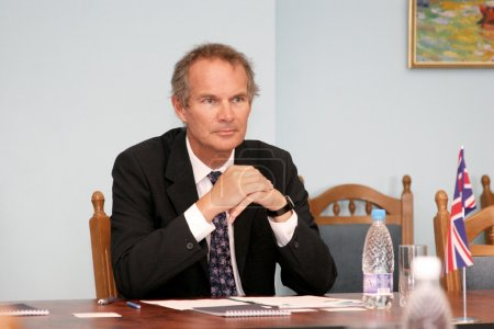 Odessa, Ukraine - September 13, 2010: Ambassador Extraordinary a