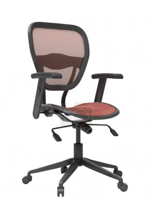 Modern office chair isolated