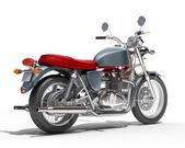 Klasický motocykl izolované