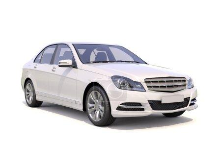Modern luxury car