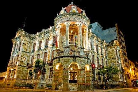 Historical Cuenca, Ecuador night long exposure