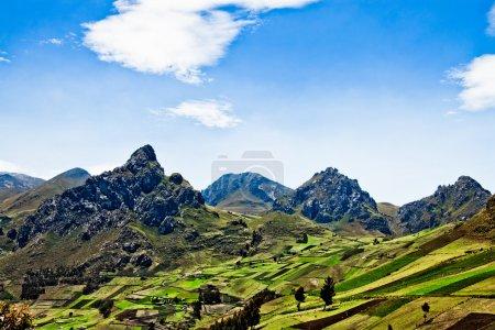 Views through the Andes Ecuador, South America