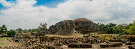 Tazumal mayan ruins in El Salvador, Santa Ana