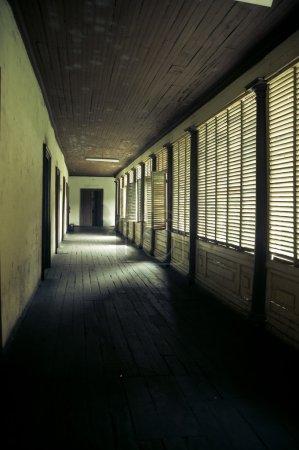 Scary hallway