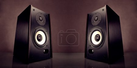 Two energy audio speakers