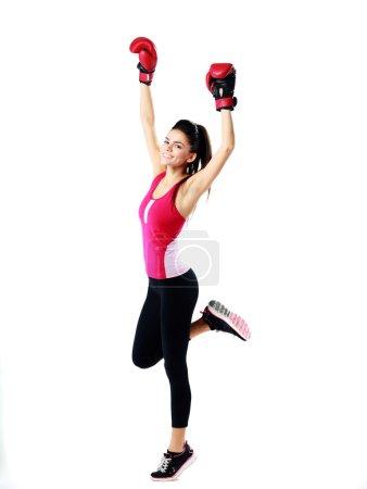 Beautiufl sport woman