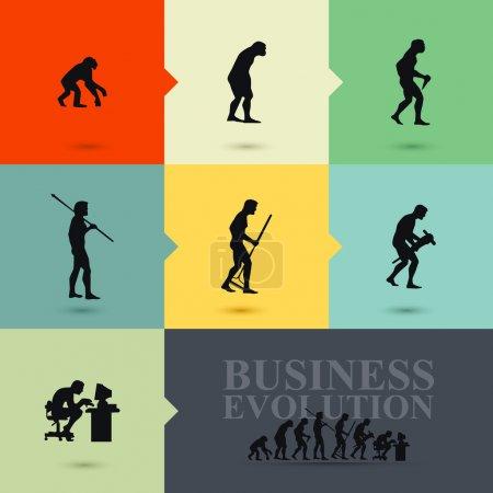 Business evolution concept
