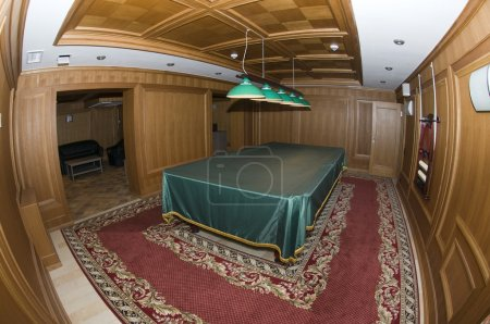 Luxurry billiards room