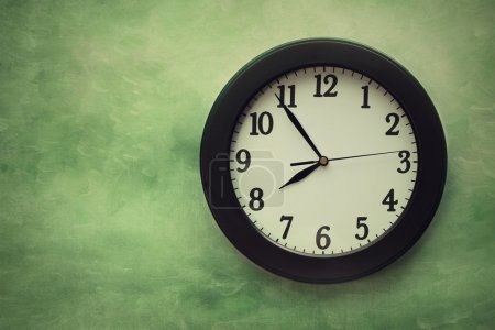 Photo for Wall clock on surreal looking background - Royalty Free Image