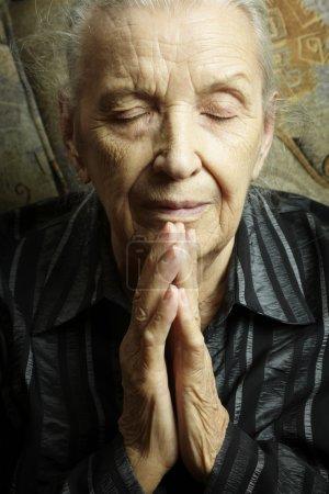 Photo pour Religion ou concept spirituel, photo tonique spéciale fx, focus sélectif - image libre de droit