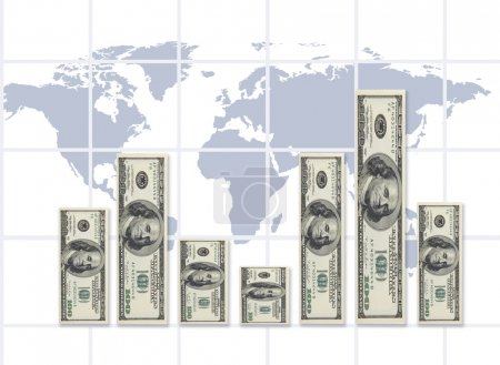 Photo for Dollar graphic(made from my images on PS,special fx) - Royalty Free Image