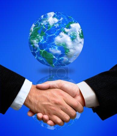 Handshake(special fx)