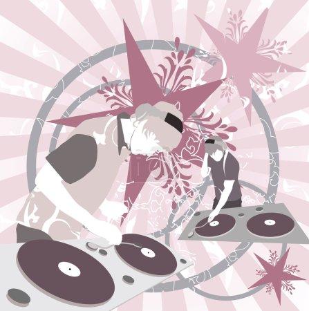 Illustrated DJ