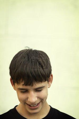 Photo pour Teen en bonne mood(special photo fx) - image libre de droit