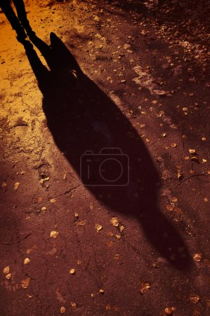 Man shadow