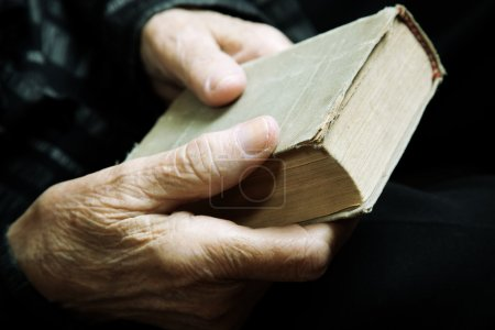 book and old hands