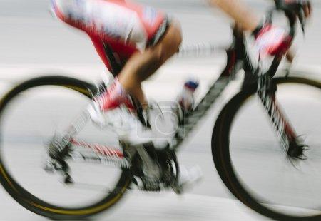 Photo pour Concept de mouvement de vitesse, flou de lentille spécial - image libre de droit