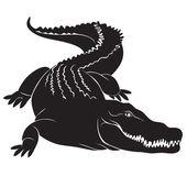 Big crocodile sign