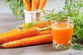 """Постер, картина, фотообои """"Морковный сок"""""""