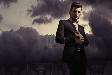Photo for Fantasy fashion style picture of a handsome man - Royalty Free Image