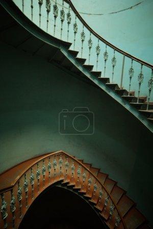 Dark interior in the tenement house