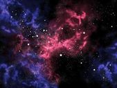 Orion in the universe with star background,