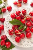 čerstvé červené cherry