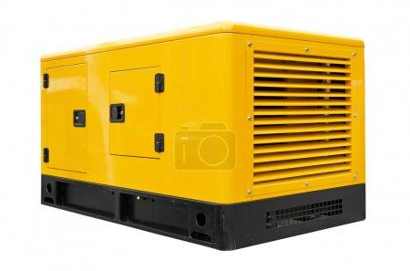 Big generator on a white background...