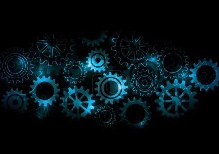 Glowing Cogs & Gears