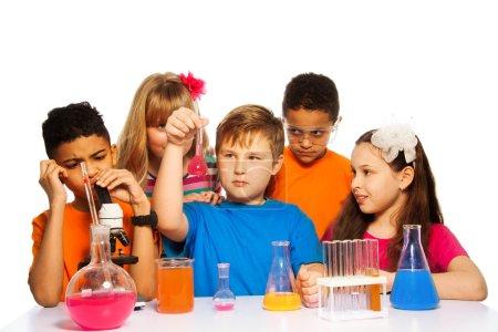 Chemistry class fun for kids