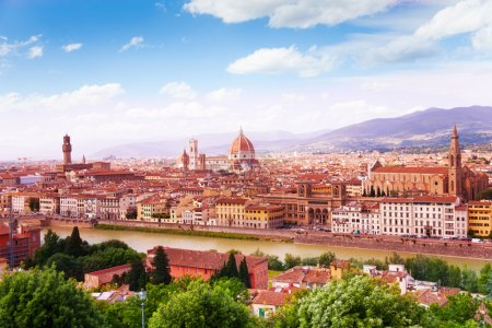 Towers and cathedrals of Florence