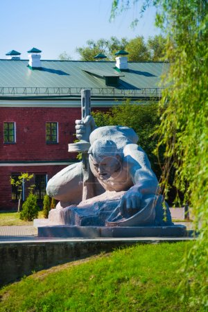 Monument of soldier