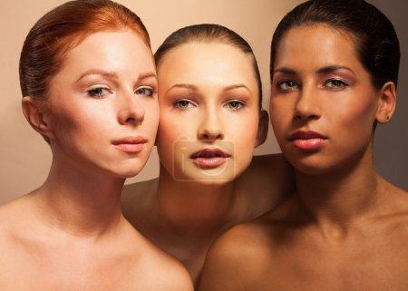 Women diversity looking