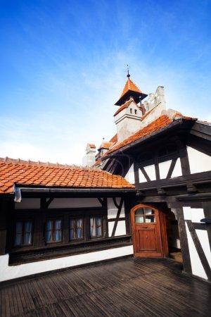 Photo pour Château de Bran (château de dracula) en Valachie et en Transylvanie, Roumanie - image libre de droit
