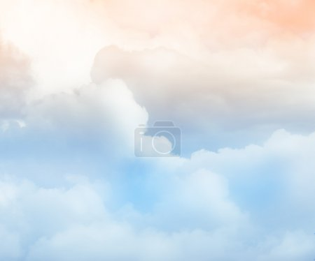 Photo for Sky and cloud background - Royalty Free Image