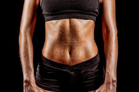 Sport woman body