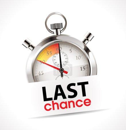 Stopwatch - last chance