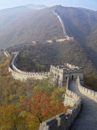 Photo pour Grande forteresse murale de Chine - image libre de droit