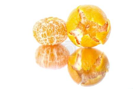 tangerine on Mirror Surface