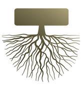 "Постер, картина, фотообои ""Концепция с корня дерева"""