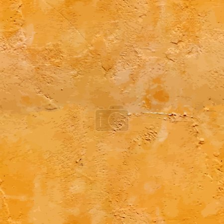 Illustration for Vector texture of a wall plaster. Seamless - Royalty Free Image