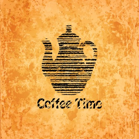 Coffee time background