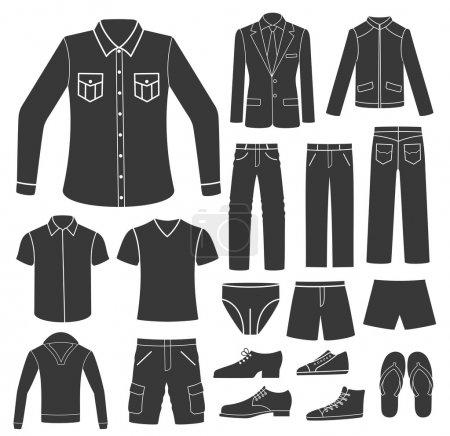 Set of Men's Clothing.