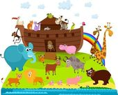 Vector illustration of a Noah's Ark
