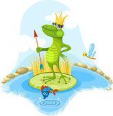 Fairytales frog