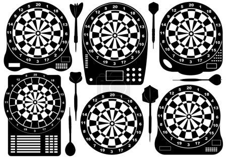 Set Of Electronic Dartboards
