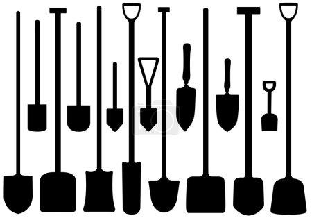 Set Of Shovels